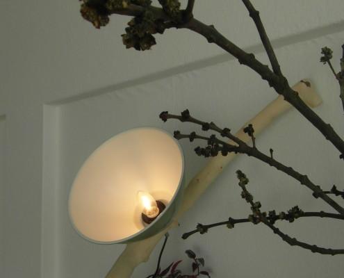 Heb je liever een andere lampenkap, dan is dit uiteraard mogelijk (bijvoorbeeld een lampenkap van metaal)