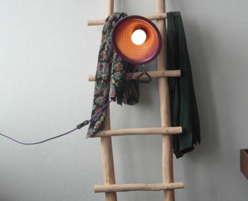 De kapstok kan goed gebruikt worden om leuke accessoires aan te hangen