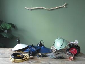 Lampen, fittingen, snoer en nog veel meer voor het maken van sfeervolle lampen