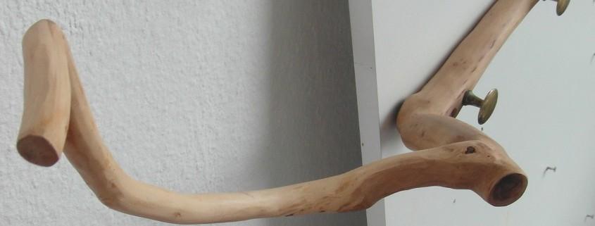 Deze kapstok heeft erg sierlijke vormen
